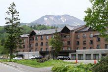 旭岳温泉ホテルベアモンテの外観