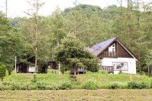 キトウシ森林公園家族旅行村の外観