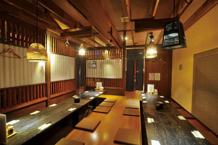 炭火焼と海鮮とおもてなし 鈴喜福太朗の店内写真