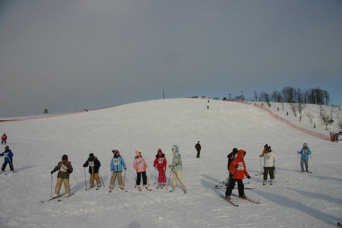 日の出スキー場の写真