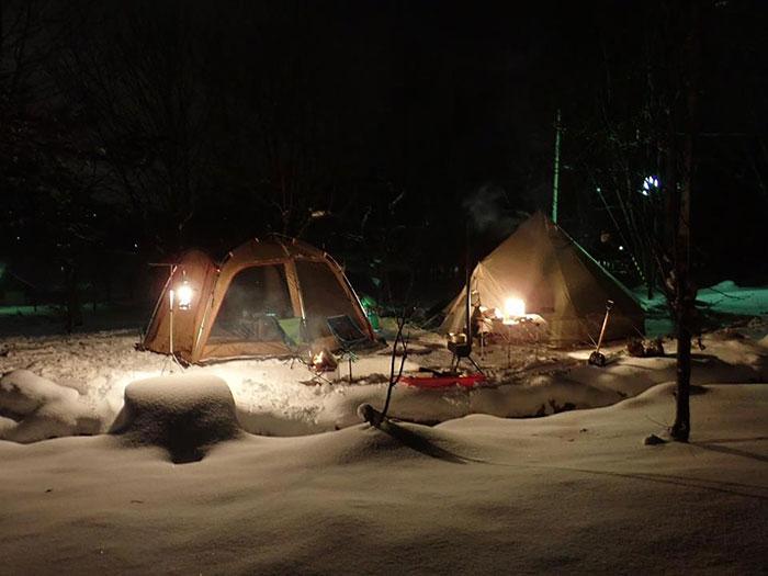 スノーキャンプサイト(キャンプ場)
